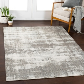 "Luzia Charcoal Updated Traditional Area Rug - 5'3"" x 7'3"""