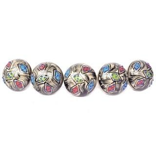 Multicolor Ceramic Door Knob Sets Package Cabinet Drawer Pull Handles Furniture Decor Lots Set (multi-color#08)