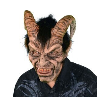 Zagone Studios Elegant Devil Latex Halloween Adult Costume Mask (one size)