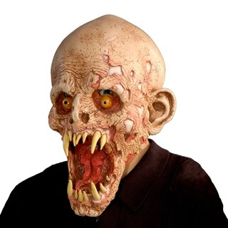 Zagone Studios Schell Shocked Monster Latex Halloween Adult Costume Mask (one size)