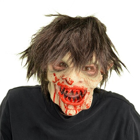 Zagone Studios Yummy Zombie Latex Halloween Adult Costume Mask (one size)
