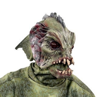 Zagone Studios Deep Sea Creature Latex Halloween Adult Costume Mask (one size)