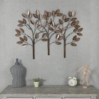 Metal Trees Wall Decor