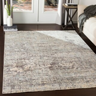 "Fitzgerald Contemporary Medium Grey Area Rug - 7'10"" x 10'3"""