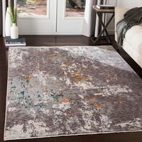 "Truman Contemporary Charcoal Area Rug - 7'10"" x 10'3"""