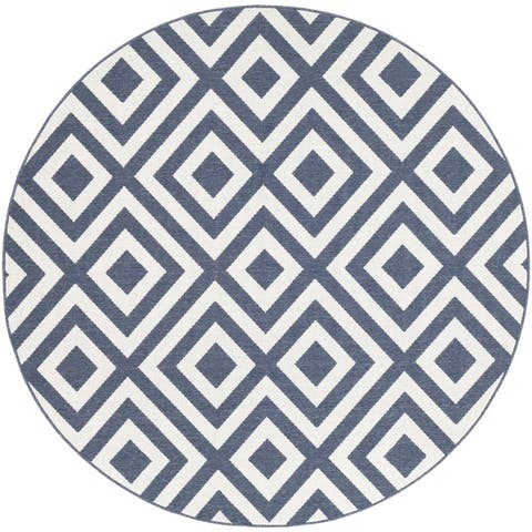 Alvise Transitional Geometric Indoor/ Outdoor Area Rug
