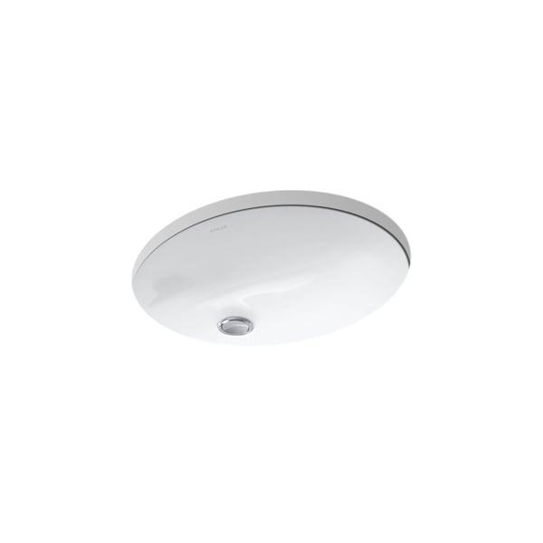 Kohler K 2209 Caxton 15 X 12 Undermount Bathroom Sink With Clamp Embly