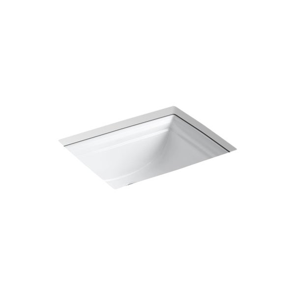 shop kohler k 2339 memoirs undermount bathroom sink free shipping rh overstock com