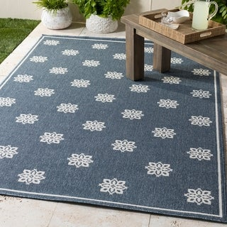 Elda Floral Indoor/ Outdoor Area Rug
