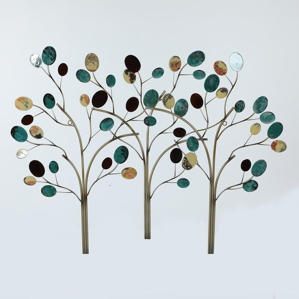 Metal Trees Wall Decor - Free Shipping Today - Overstock - 28038362