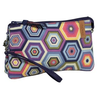 Donna Sharp Organizer Wristlet, Jazz