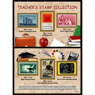 Teacher's Stamp Collection
