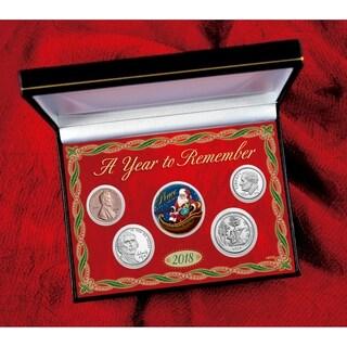 2018 Santa Year To Remember Coin Box Set