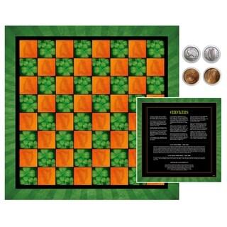Irish Checker Coin Checker Set