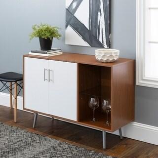 Mid-Century Modern Assymetrical Buffet TV Stand