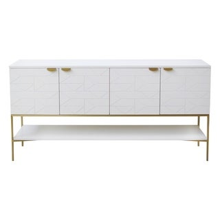 Palmoa Collection Handcrafted Blanco Console
