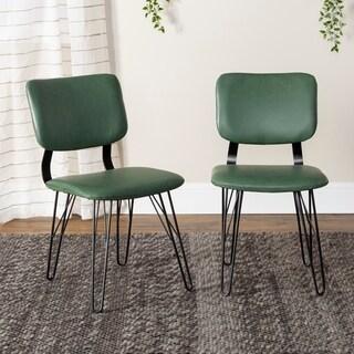 Carson Carrington Halls Mid-century Flex-back Dining Chairs (Set of 2)