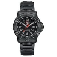Luminox Men's 4222 Anu Black Stainless Bracelet Watch