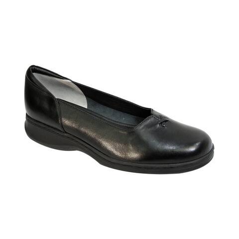 24 HOUR COMFORT Cali Women Wide Width Comfort Slip on Shoes