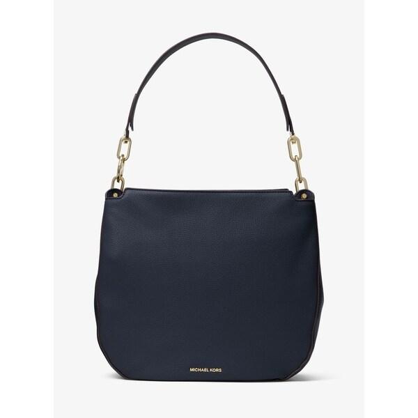 b7d69917ceeb Shop MICHAEL Michael Kors Fulton Leather Shoulder Bag - Free ...