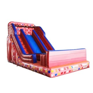 ALEKO Commercial Grade Inflatable Bounce House with Pool and Blower - 28 x 17 x 17 feet