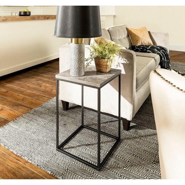Carbon Loft Geller Square Urban Side Table - 16 x 16 x 24h