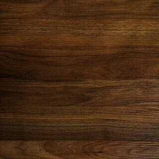 Carbon Loft Geller Square Urban Side Table - 16 x 16 x 24h (Dark Walnut)