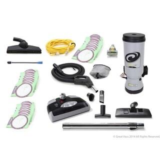 ProTeam MegaVac Grey 10-quart Backpack Vacuum Cleaner