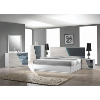 Best Master Furniture Zebra/ Gray 5 Pieces Platform Bedroom Set