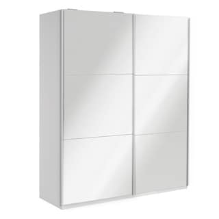 Wardrobe 78 Inch with Sliding Doors (Mirror - Greenguard Certified/Mirror Included/Includes Hardware)