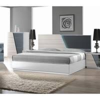 Best Master Furniture Zebra/ Gray Platform Bed