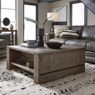 Granada Hills Contemporary Lift Top Storage Coffee Table