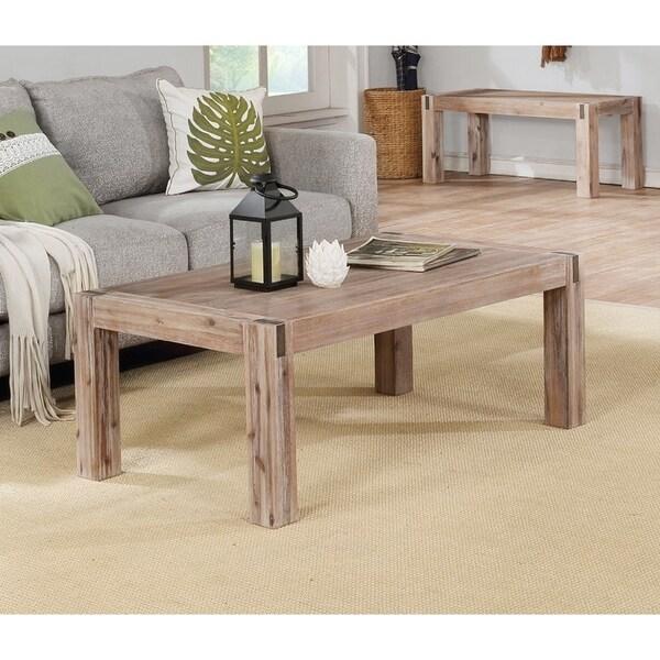 Woodstock Acacia Wood Coffee Table
