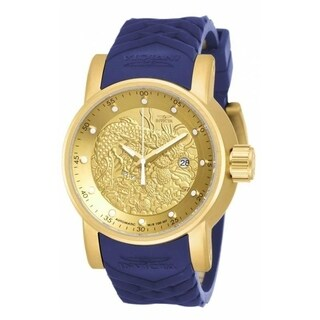Invicta Men's 18215 'S1 Rally' Automatic Chronograph Blue Polyurethane Watch
