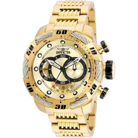 Invicta Men's Speedway 25482 Gold Watch