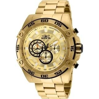Invicta Men's Speedway 25535 Gold Watch