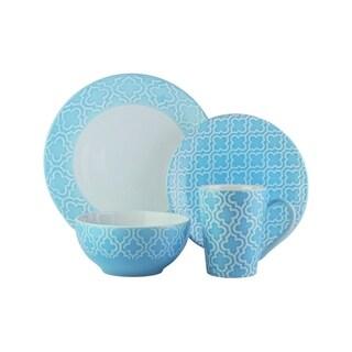 Quatre Blue Dinnerware Set
