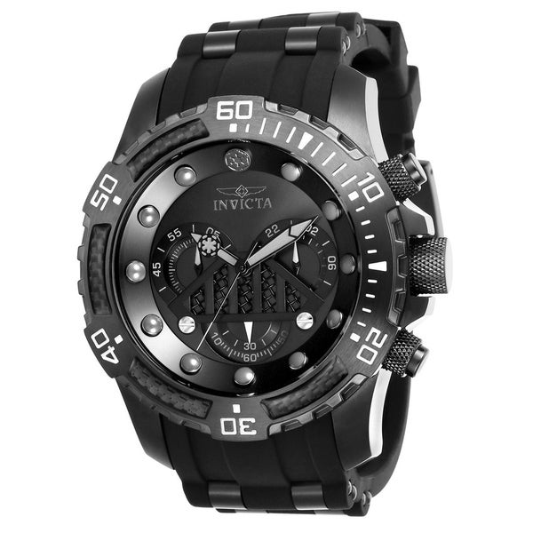 Shop Invicta Men s  Star Wars  Darth Vader Black and Gunmetal Polyurethane  and Stainless Steel Watch - Free Shipping Today - Overstock - 22407308 52a09b5da