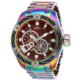Invicta Men's 26774 'Bolt' Automatic Iridescent Stainless Steel Watch