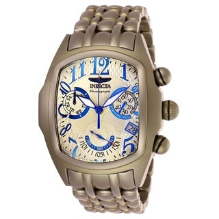 Invicta Men's 26701 'Lupah' Khaki Stainless Steel Watch