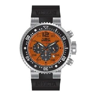 Invicta Men's 26733 'Pro Diver' Black Silicone Watch
