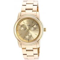 Invicta Women's  'Angel' Gold-Tone Stainless Steel Watch