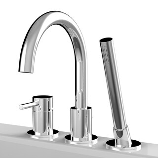 A&E Bath and Shower Oxford Deck Mount Faucet Chrome