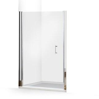 ALEKO Glass Pivot Shower Door 48 x 72 Inches Chrome