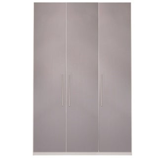 Wardrobe 59 Inch with Swing Doors (cappuccino)