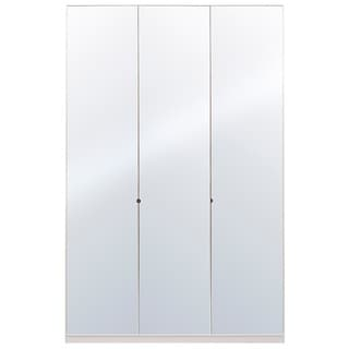 Wardrobe 59 Inch with Swing Doors (Mirror)