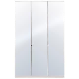 Wardrobe 59 Inch with Swing Doors (Mirror)