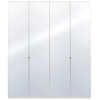 Wardrobe 78 Inch with Swing Doors (Option: Mirror)