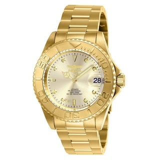 Invicta Men's 9010OB 'Pro Diver' Automatic Gold-Tone Stainless Steel Watch