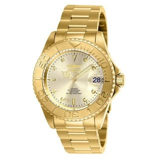 26e149ded5e745 Invicta Men s  Pro Diver  Automatic Gold-Tone Stainless Steel Watch